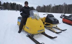 Göran Josefsson på 66:as Skidoo